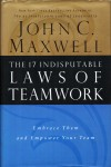 The 17 Indisputable Laws of Teamwork. Книга б/у